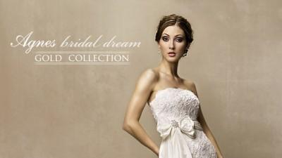 Suknia ślubna z kolekcji Agnes model 10150 kolekcja 2010