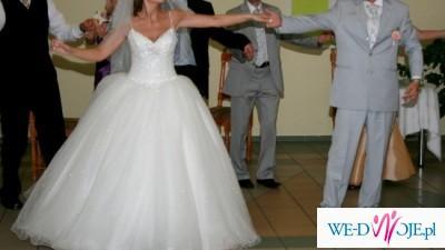 Suknia ślubna z kolekcji DEMETRIOS 2007 NR 896 kupiona w lipcu 2008