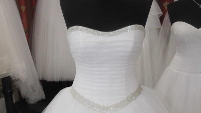 Suknia ślubna z kolekcji Duber Princessa + 2 welony