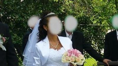 Suknia ślubna z kolekcji Emmi Mariage model Diamante 2009