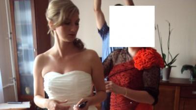 Suknia Ślubna z kolekcji Herm's
