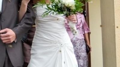 Suknia ślubna z kolekcji Herms model Evan
