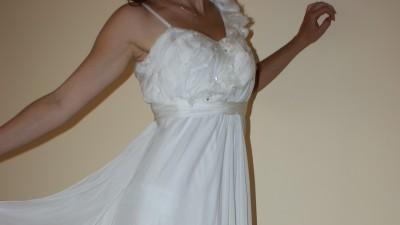 Suknia ślubna z kolekcji Macieja Zienia