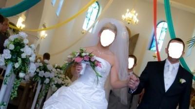 Suknia ślubna z kolekcji Papa Michel 2009 model Esna