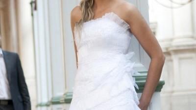 Suknia ślubna z kolekcji SPOSABELLA 2009