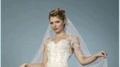 Suknia ślubna z koronką -oxana