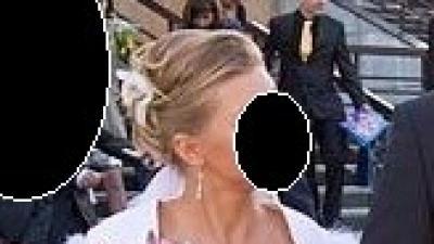suknia ślubna z muślinu biała