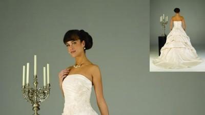suknia ślubna z najnowszej  kolecji Sweethart 5819 na 2008 r.