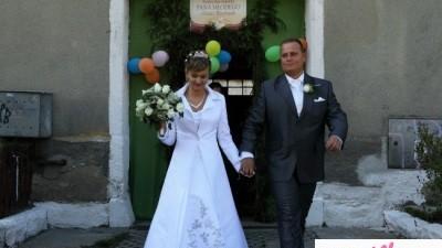 Suknia Ślubna z płaszczem