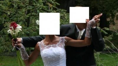 Suknia ślubna z presiżowego salonu NABLA!!! - 1500 zł