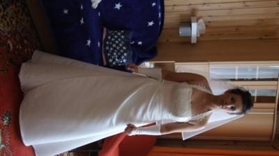 Suknia ślubna z salonu