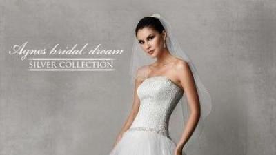 Suknia Ślubna z salonu Agnes - tiulowa-