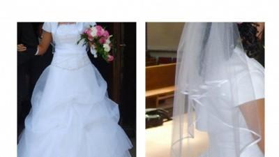 "Suknia ślubna z salonu Karina, model ""Violett"""