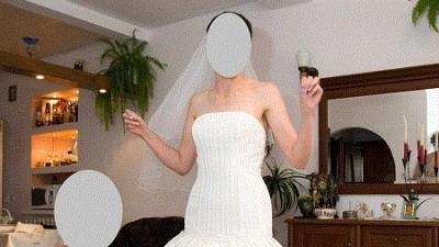 Suknia ślubna z salonu La Mari