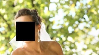 Suknia ślubna z seksownym dekoltem, welon i bolerko gratis