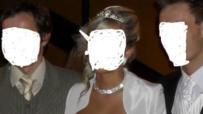 suknia ślubna z trenem,jak nowa stan BDB