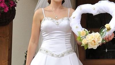 Suknia Ślubna z USA marki La Joli Mode Bridal,