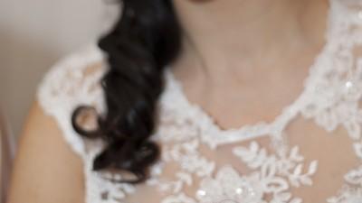 Suknia Ślubna z welonem i bolerkiem