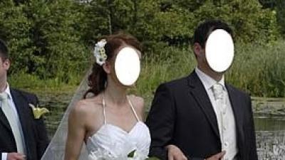 Suknia ślubna zaprojektowana i uszyta na zamówienie