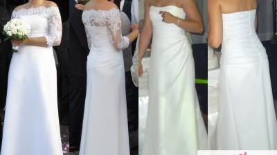 Suknia ślubna ZASTA Gala r. 38