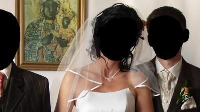 """Suknia śubna """"ALICJA"""" (wrzesień 2007)"""