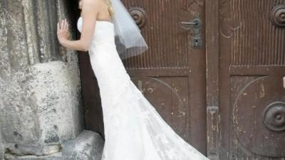 Suknia WHITE ONE 424, rozmiar 34/36