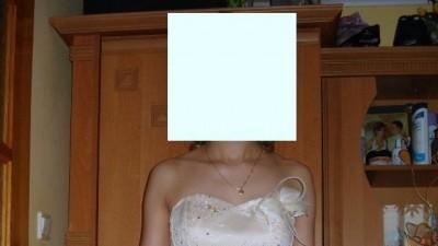 Suknia wieczorowa ecuri