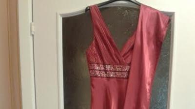 Suknia wieczorowa w stylu greckiej bogini - USA!