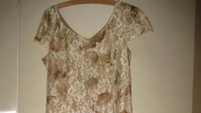 suknia  wyjściową, koronkową