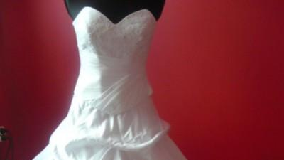 suknia z ekspozycji