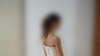 Suknia z Francji, Ecru , rozmiar 38, Okazja - tylko 550 zł!
