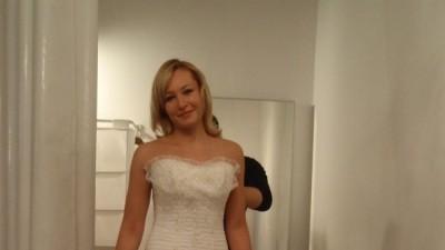 Suknia z paryskiego domu mody l'empire du mariage
