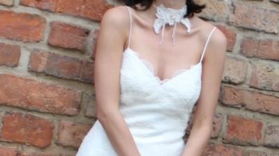 suknia z pięknej francuskiej koronki:)