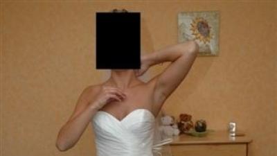 suknia z salonu marietta gdynia - model 508 - ecru