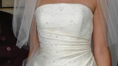 suknia zakupiona w poznańskim Salonie Mody Ślubnej Madonna