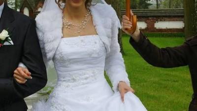 Suknie ślubna La Sposa model Mitra - biała, 38