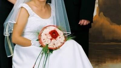Suknie ślubna r.38