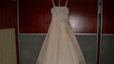 suknie slubne biała i ecru