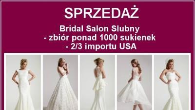 Suknie ślubne - salon ślubny firma idealny biznes dla kobiety