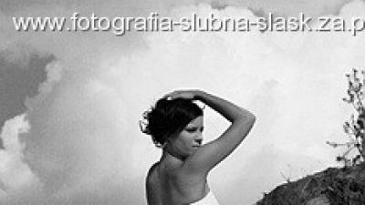 Suknie ślubne w akcji - fotografia reportażowa i plenerowa