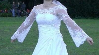 !! sunkia ślubna !! jedyna w swoim rodzaju
