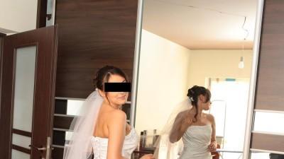 Super elegancka hiszpańska suknia ślubna!!!!
