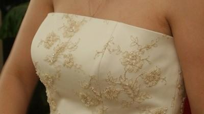 Super elegancka suknia slubna 38
