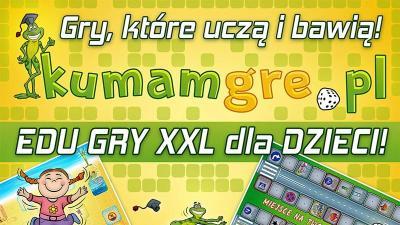 SUPER GRY XXL dla DZIECI - mega wielki format