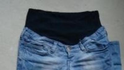 Super modne spodnie ciążowe H&M r 38 Stan Idealny