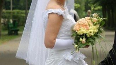 Super Sukienka Ślubna - TANIO - firmy Elizabeth