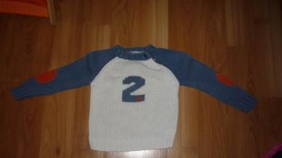 Super sweterek dla chłopca