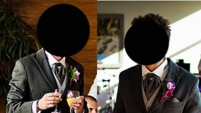 surdut angielski na ślub + gratis fular i chustka