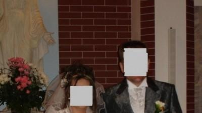 Surdut ślubny