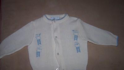 Sweterek dla malego chłopca